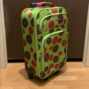 Other - Floral Suitcase
